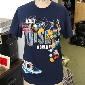 Walt Disney World Mickey and friends monorail tee